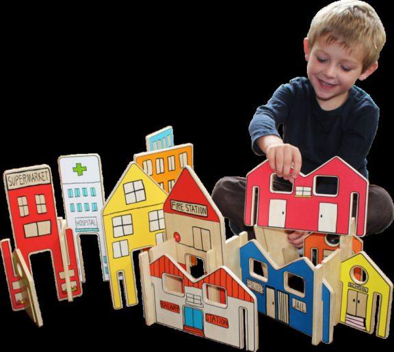 Happy Architect Town Set