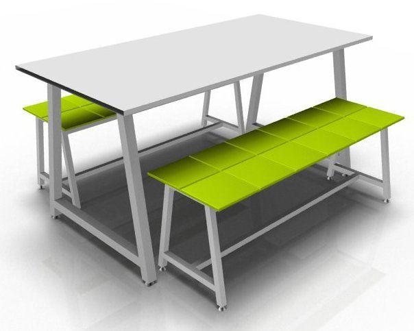 Harper Dining Bench Set 18mm MFC Upholstered