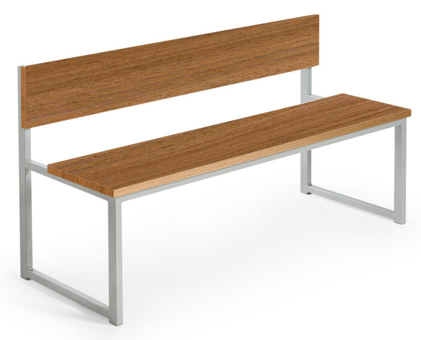 Hermes Dining Height Benches with Backs