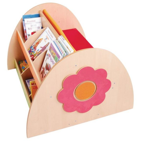 HS Bookcase With Bench