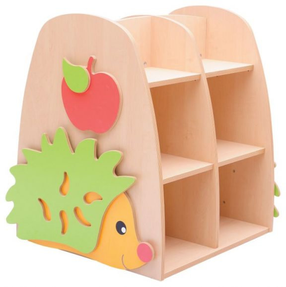 HS Double Sided Hedgehog Bookcase