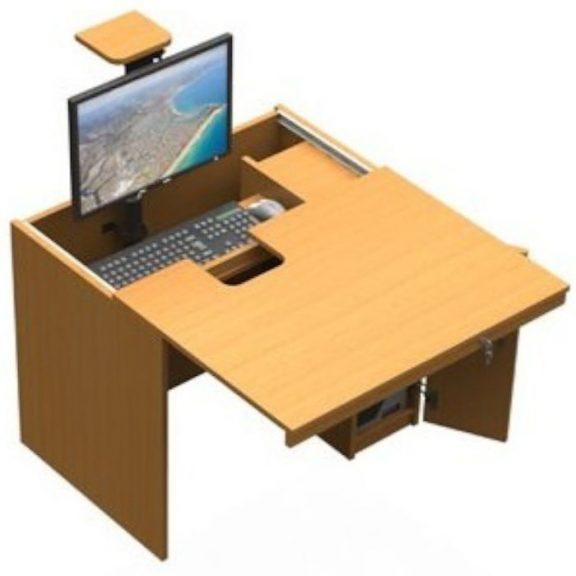 In-Desk ICT Computer Desk