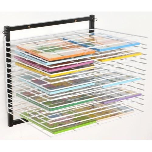 Itex 10 Shelf Wall Mounted Drying Rack