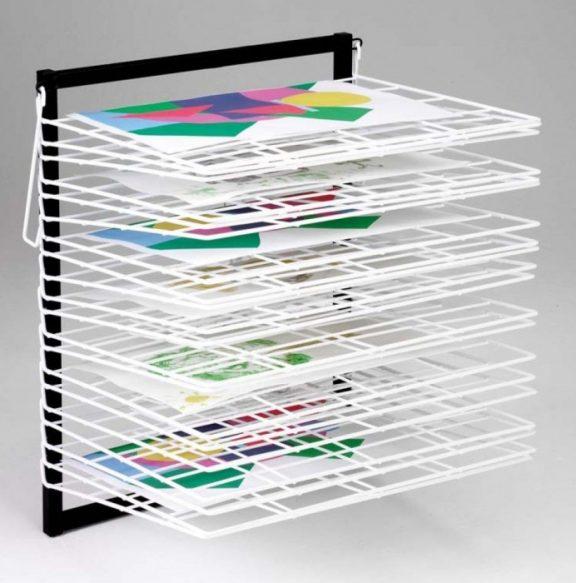 Itex 20 Shelf Wall Mounted Drying Rack
