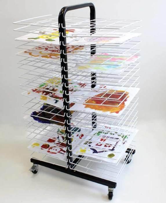 Itex Mobile 40 Shelf Drying Rack - Small Shelves