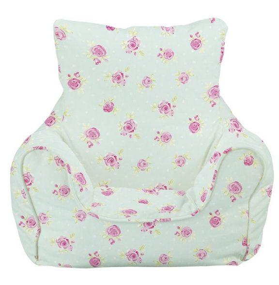 JK Country Flowers Bean Bag Chair