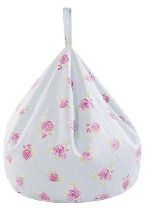 JK Country Flowers Bean Bag