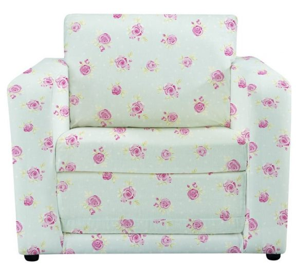JK Country Flowers Chair Bed