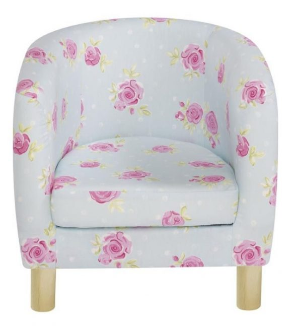 JK Country Flowers Children's Tub Chairs