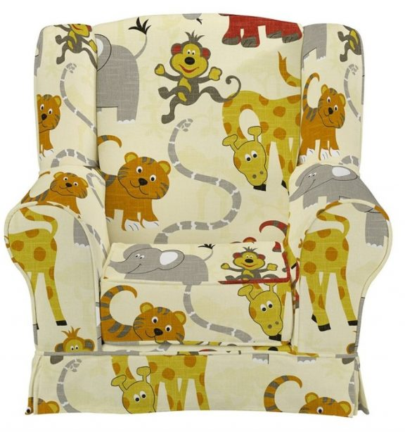 JK Jungle Party Wing Chair