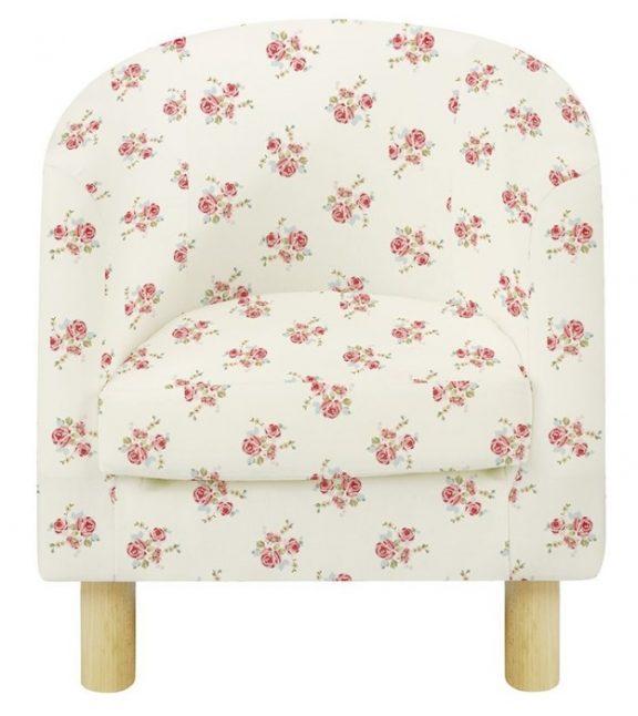 JK Natural Rose Children's Tub Chairs