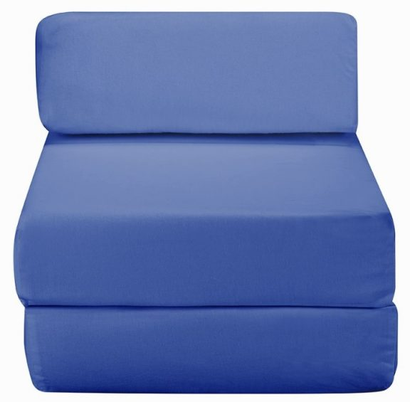 JK Plain Blue Z Bed