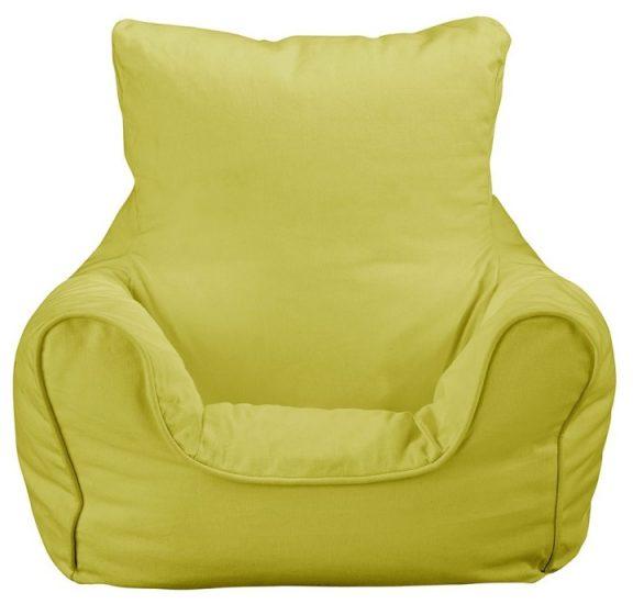 JK Plain Green Bean Bag Chair