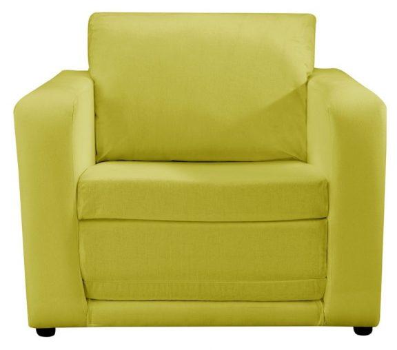 JK Plain Green Chair Bed