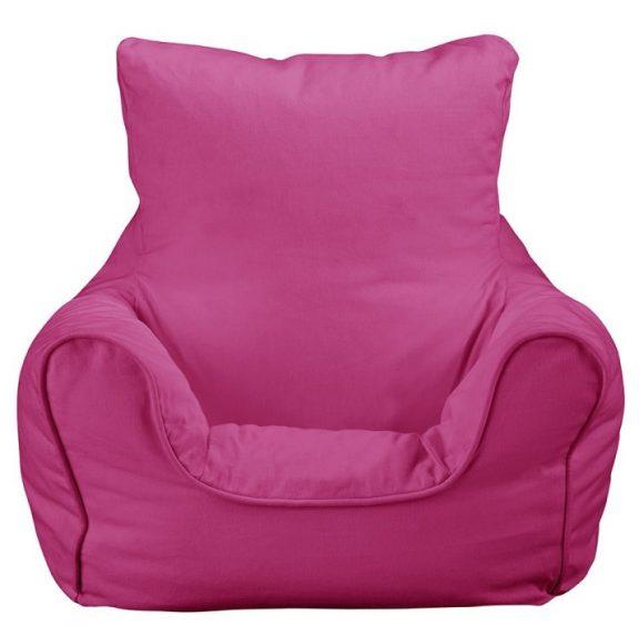JK Plain Pink Bean Bag Chair