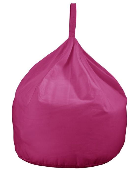 JK Plain Pink Bean Bag