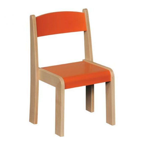 JS Wood Primary Chairs (Set of 4)