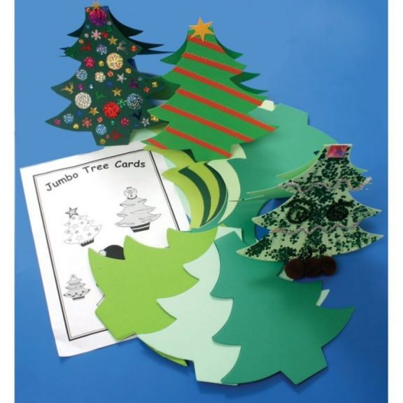 Jumbo Tree Cards