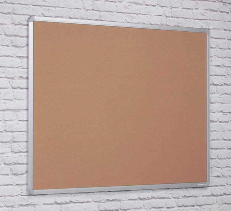 Kidre Aluminium Framed Hessian Fabric Noticeboard