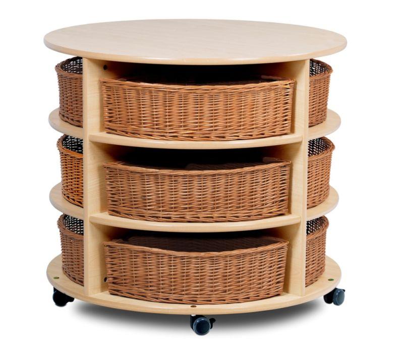 Kidre High Level Circular Storage Unit