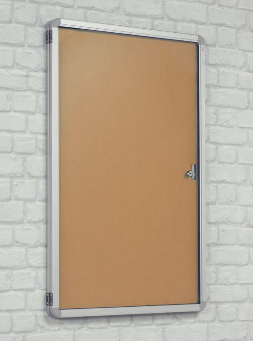 Kidre Tamperproof Hessian Fabric Noticeboard