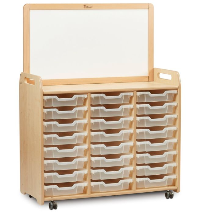 Kidre Tray Storage with Magnetic Divider Add-On