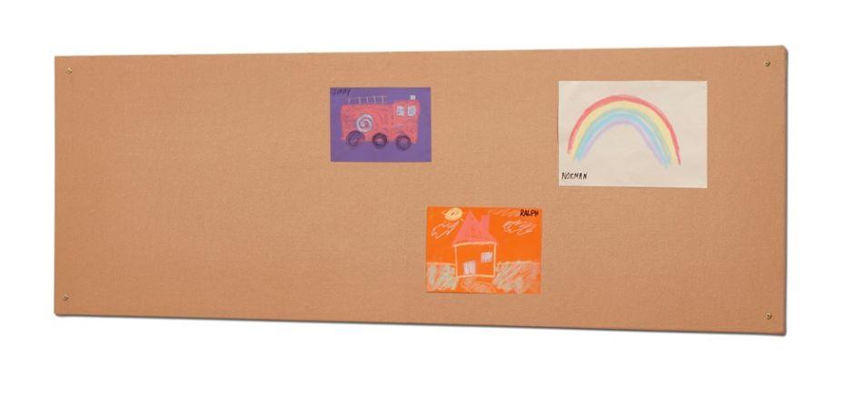 Kidre Unframed Hessian Fabric Noticeboard