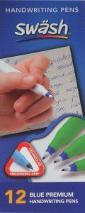 KOMFIGRIP Blue Handwriting Pens
