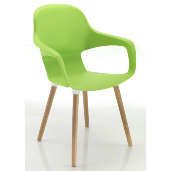Lido Wooden Leg Poly Chair