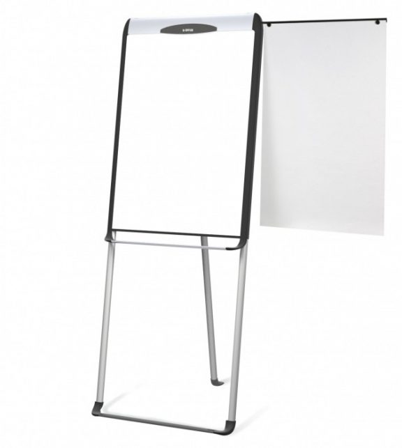 Mastervision Flipchart Easel with Footrail