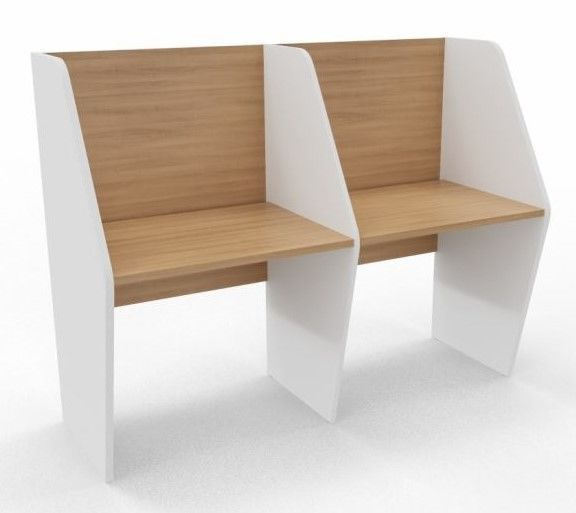 Maximo Single Sided Two Person Desk