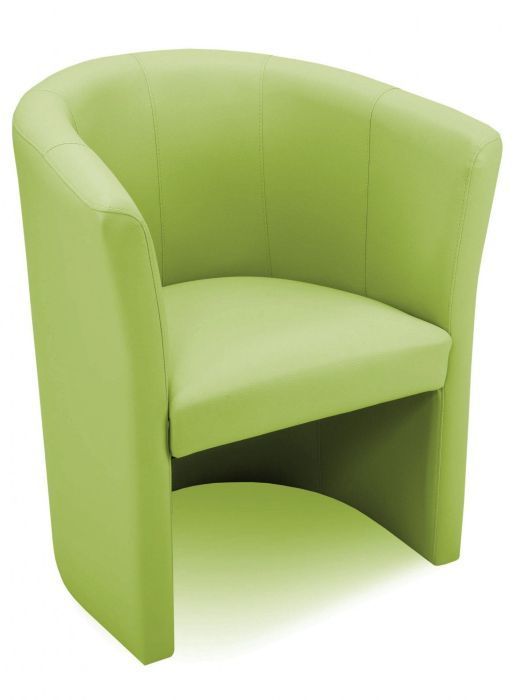 Mesit Tub Chairs in Faux Leather Choices