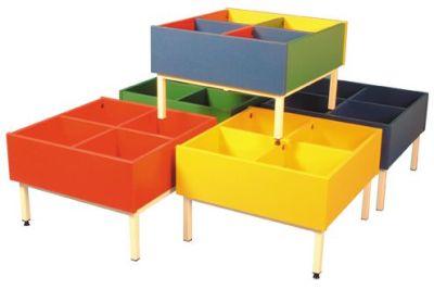 Metal Frame Coloured Kinderbox