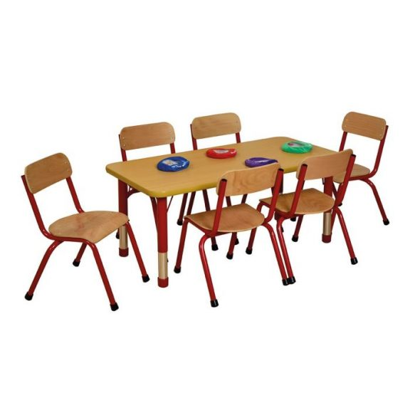MLN Rectangular Table 6 Seater