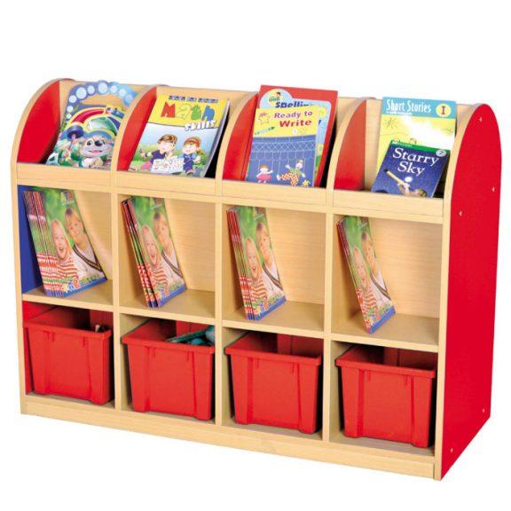 MLN Wooden Storage Unit - 12 Compartment