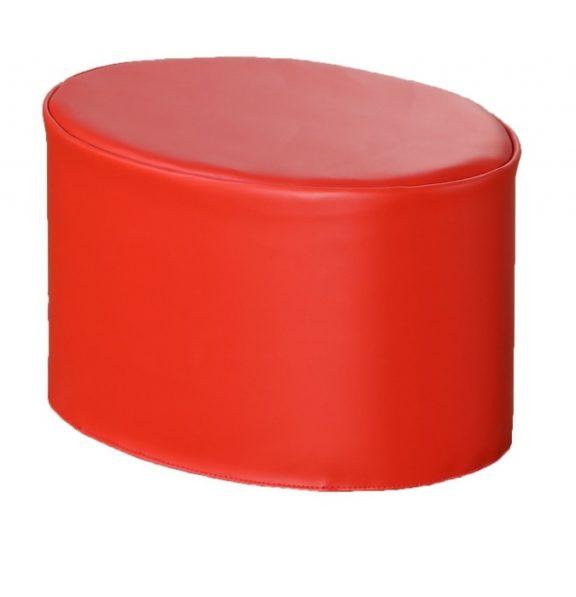 Modex Modular Pouf - Poppy Red