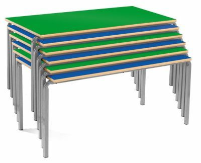 MS Rectangular Stackable Tables