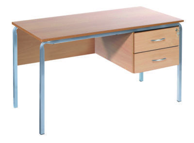 MS Teachers Desk Crush Bent Frame