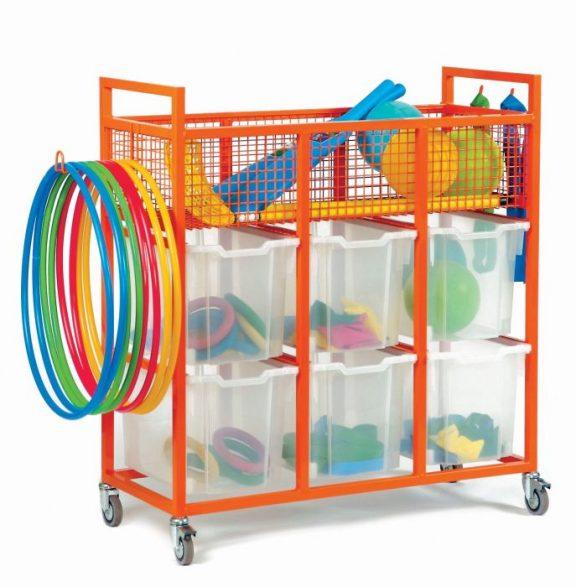 MZ Steel Sports Wquipment Trolley
