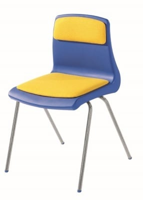 Nemus Classroom Chair with Seat and Back Pad