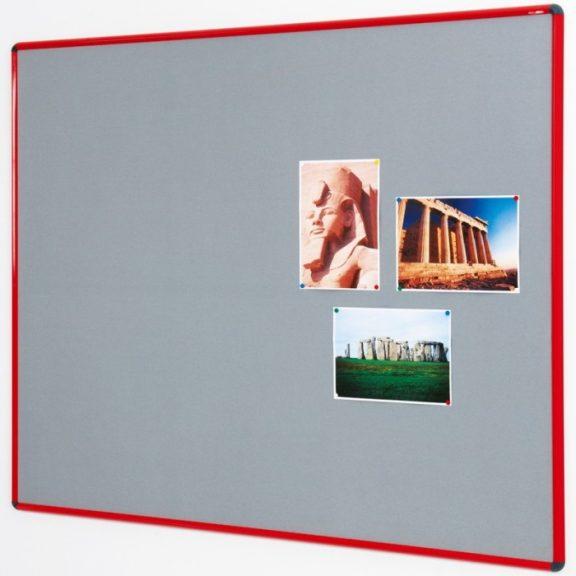 Newlands Flame Resistant Noticeboards Coloured Frame