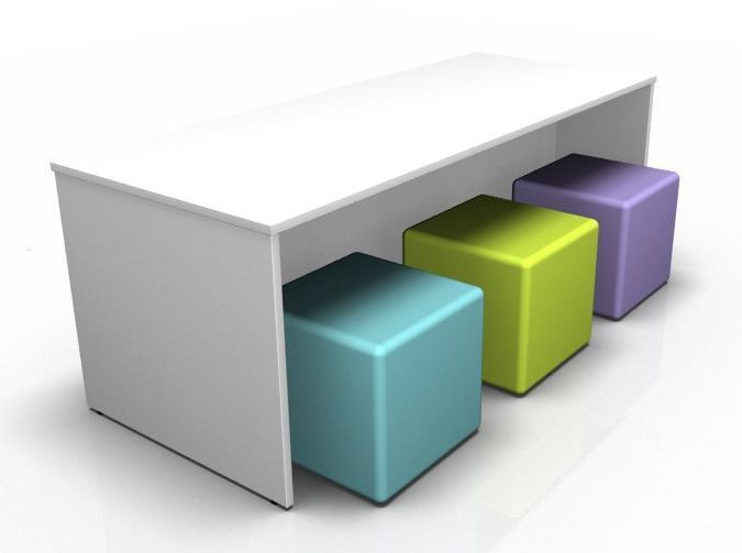 Nobu Dining Bench Set - 6 Seater
