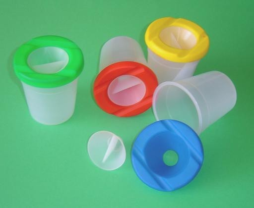 Non-Spill Water Pots