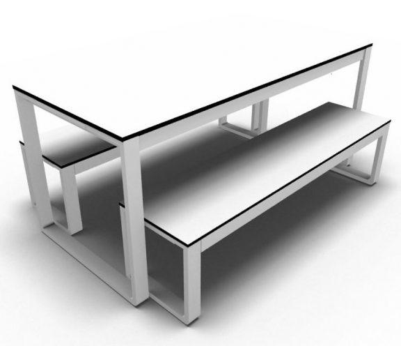 Felix Outdoor Folding Dining Set - HPL