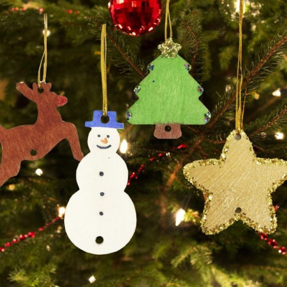 Paint Your Own Christmas Decoration