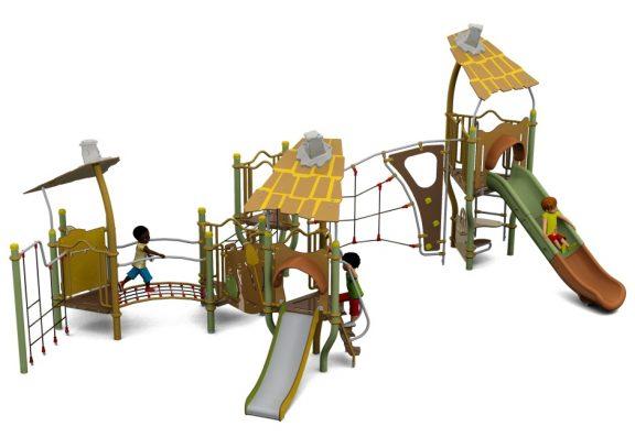 Piccollo Three Tower Q Playcentre