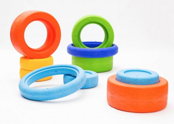 Weplay Play Tyres - Set of 3