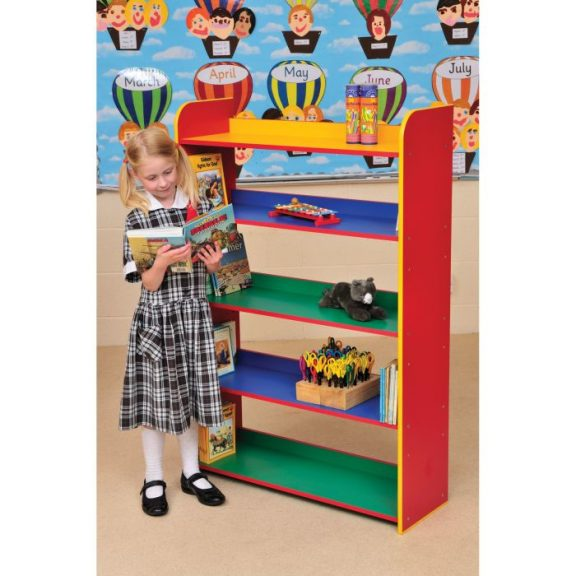 PM Five Shelf Bookcase