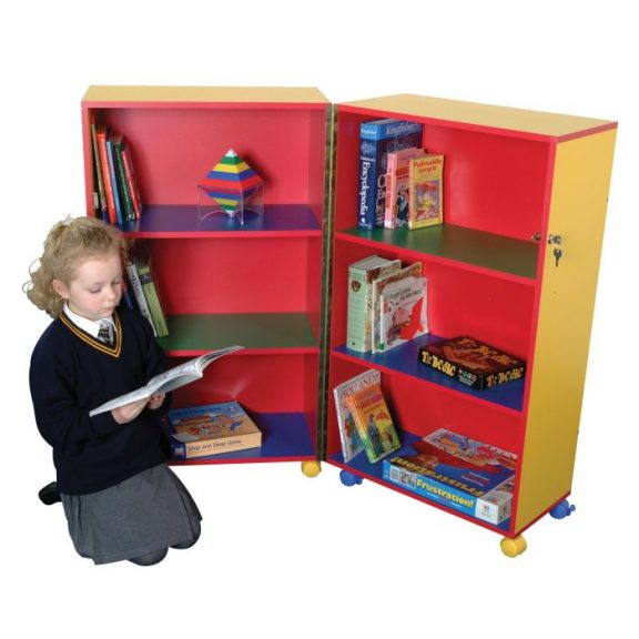 PM Mobile Fold Away Bookcase