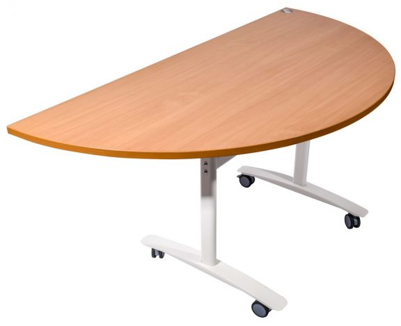 Premium Half moon tilt top table